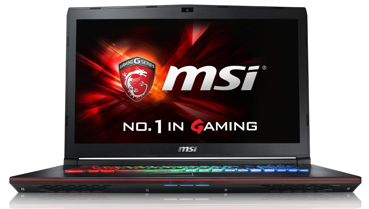 MSI GE72 6QF-067XRU Apache Pro, Black ( GE72 6QF-067XRU )