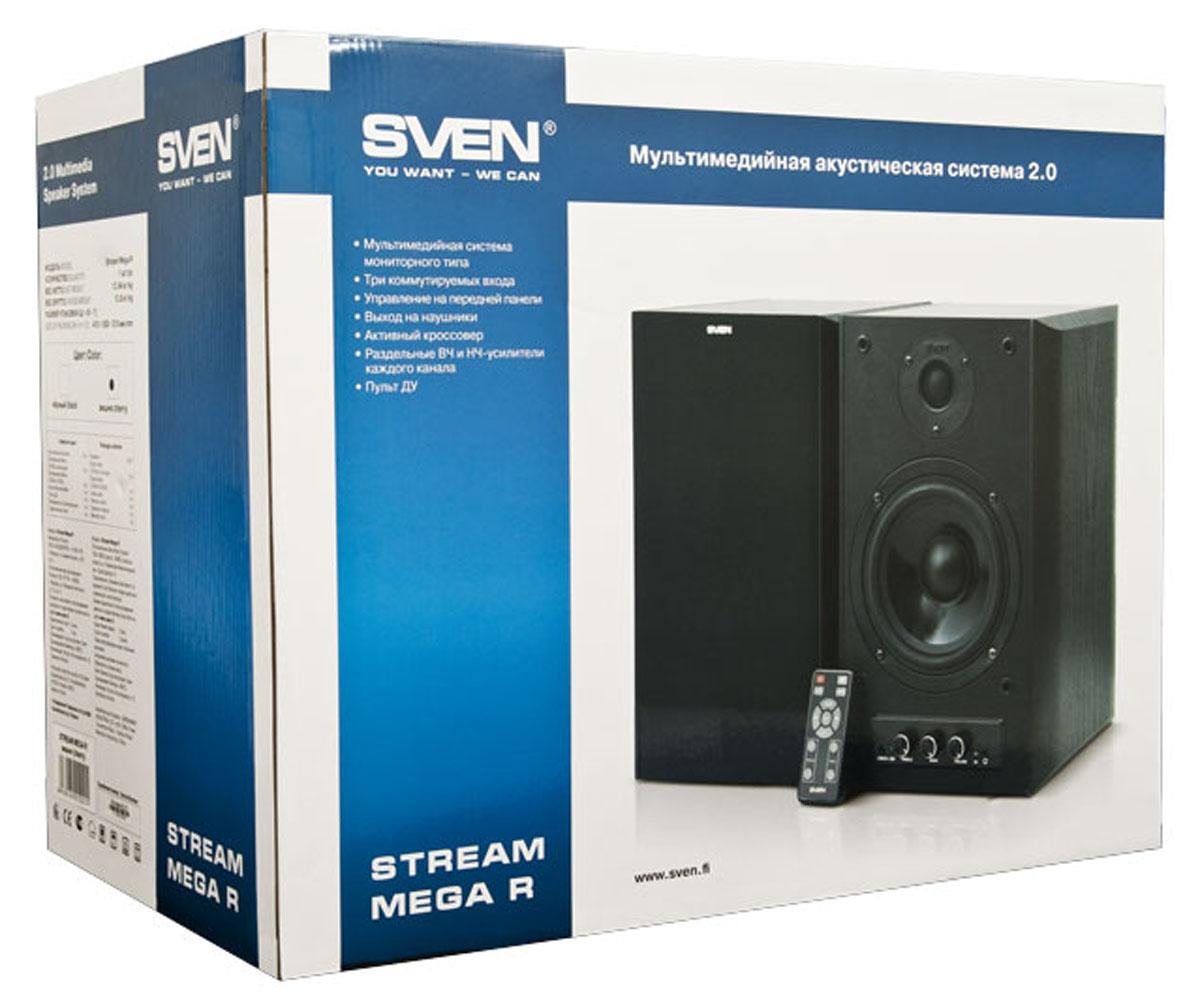 Sven Stream Mega R, Cherry акустическая система 2.0 ( SV-012STMRCH )