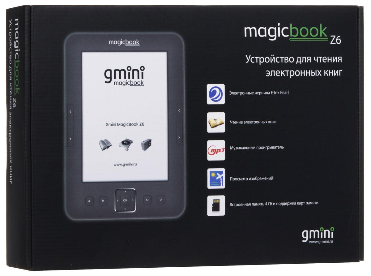 Gmini MagicBook Z6, Graphite электронная книга ( АК-00000252 )
