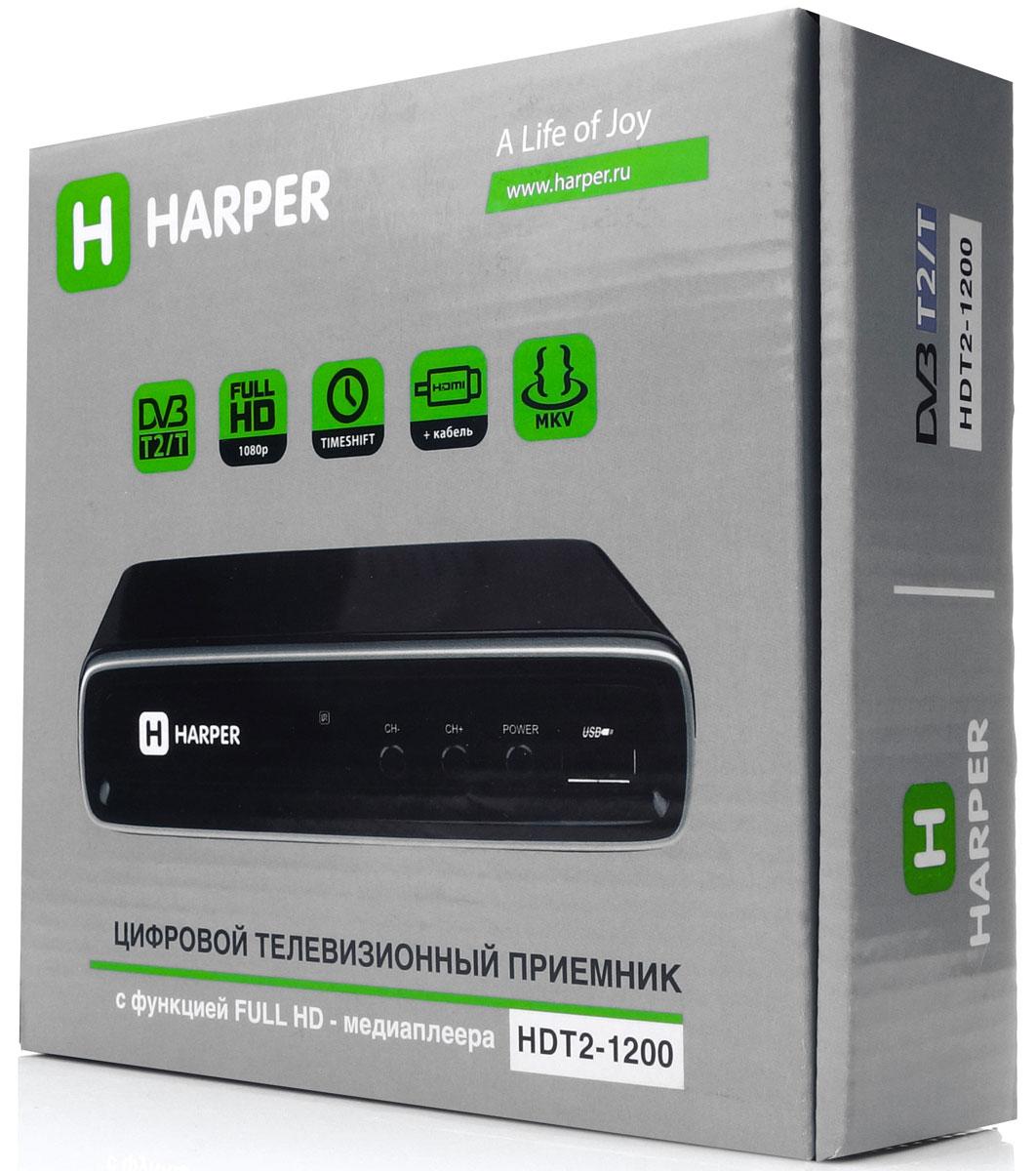 Harper HDT2-1200 телевизионный ресивер DVB-T2