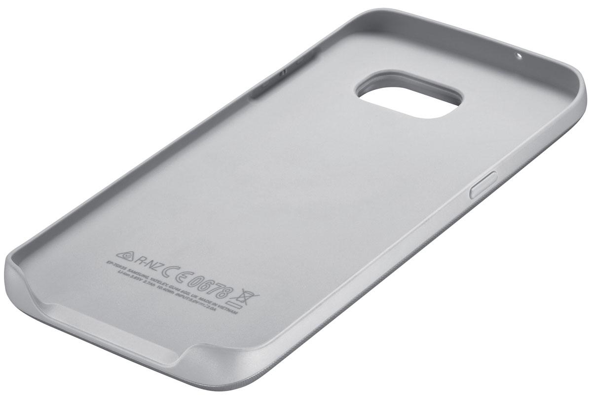 Samsung EP-TG935 Backpack чехол-аккумулятор для Galaxy S7 Edge, Silver ( EP-TG935BSRGRU )