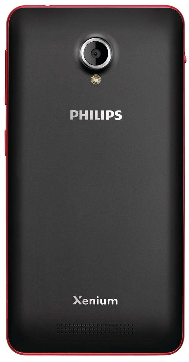 Philips Xenium V377, Black Red