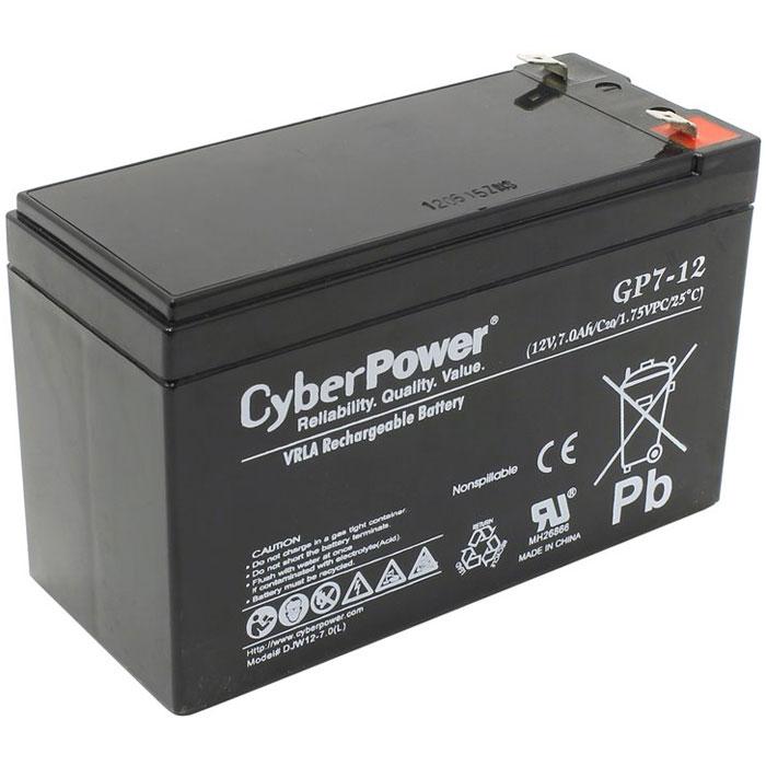 CyberPower 12V7Ah аккумулятор для ИБП