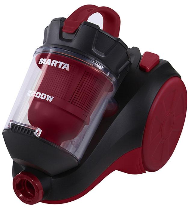 Marta MT-1350, Black Red пылесос ( MT-1350_Black/Red )