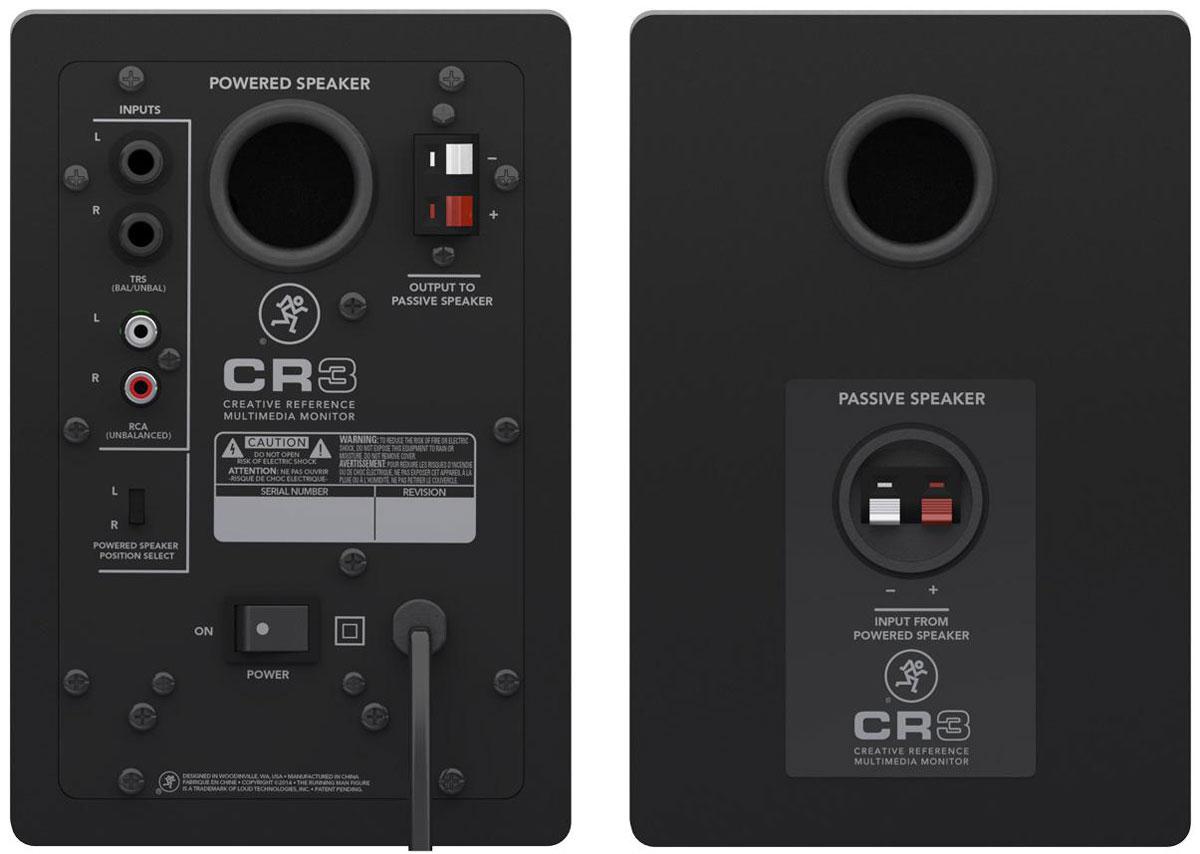 Mackie CR3 студийная мониторная акустика (2 шт.)