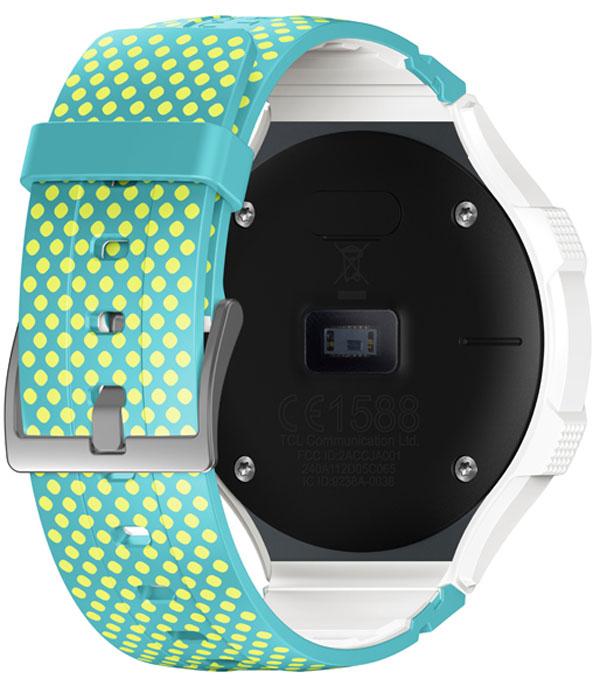 Alcatel OT-Go SM-03, White Lime смарт-часы