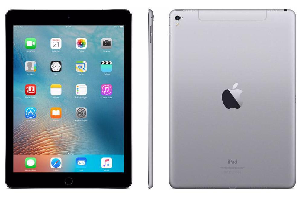 """Apple iPad Pro 9,7"""" Wi-Fi Cellular 256GB, Space Gray ( MLQ62RU/A )"""