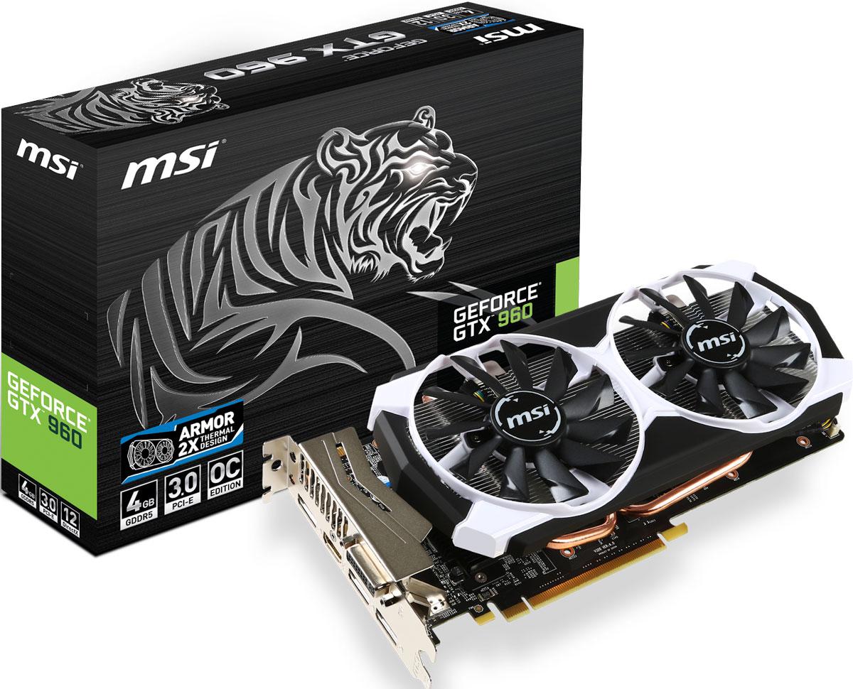 MSI GeForce GTX 960 4GD5T OC 4GB видеокарта