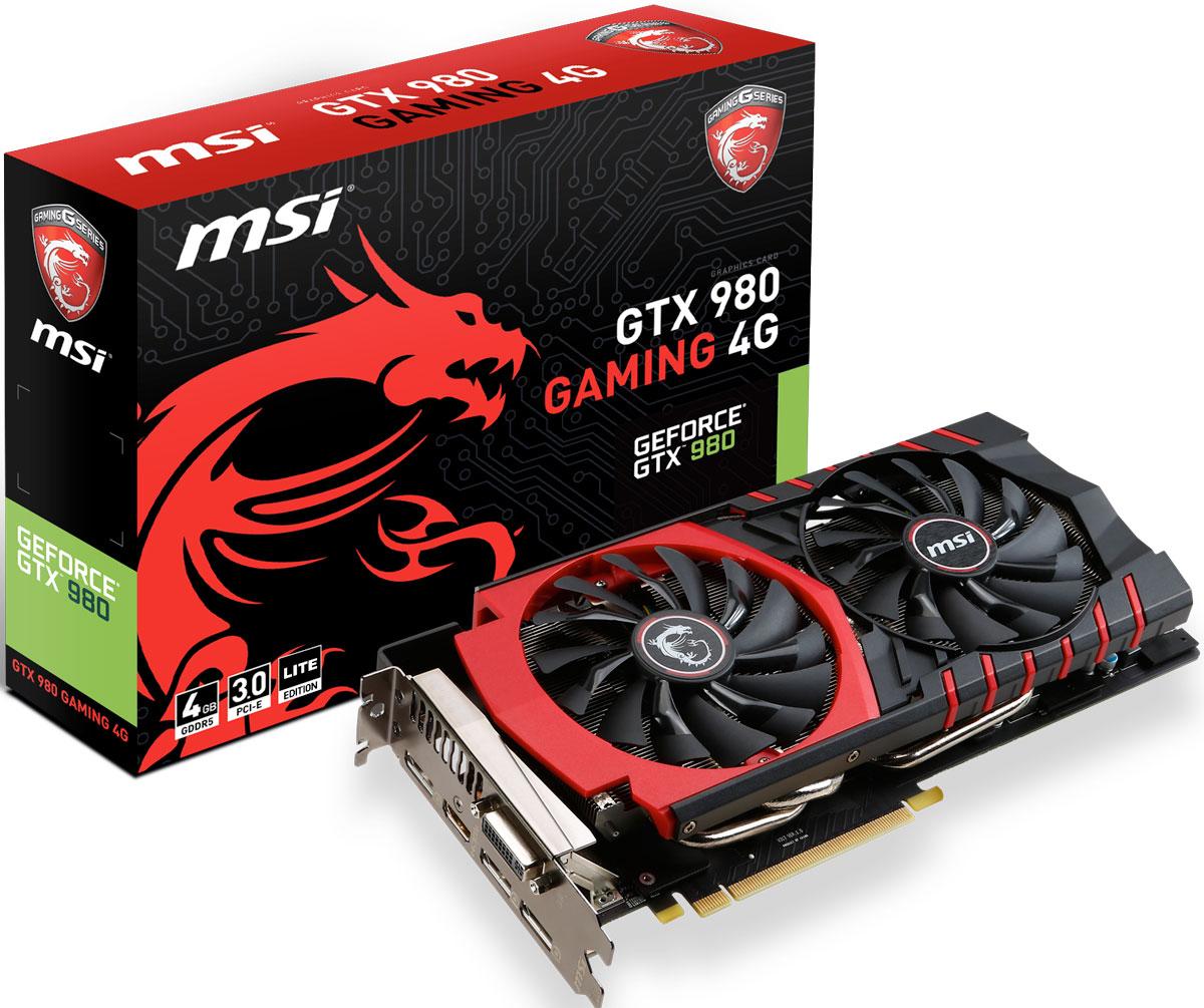 MSI GeForce GTX 980 Gaming 4G 4GB видеокарта