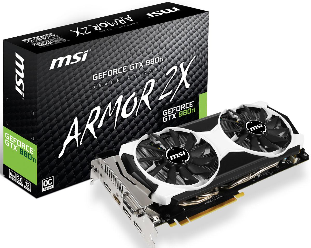 MSI GeForce GTX 980TI 6GD5T OC 6GB видеокарта