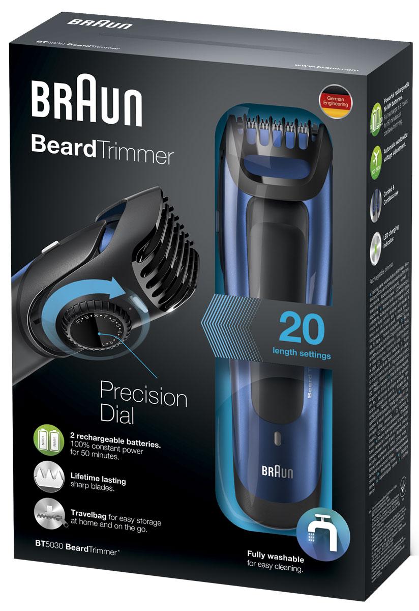 Braun BT 5030 триммер для бороды