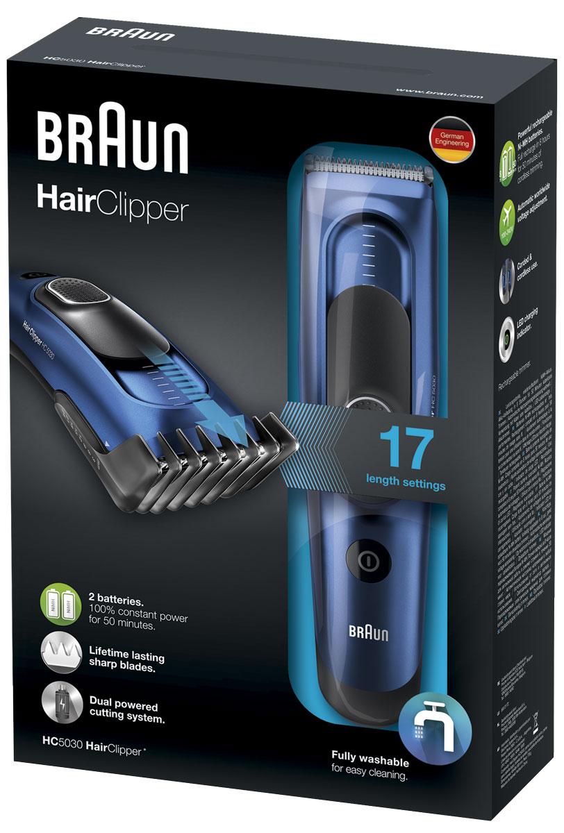 Braun HC 5030 машинка для стрижки волос