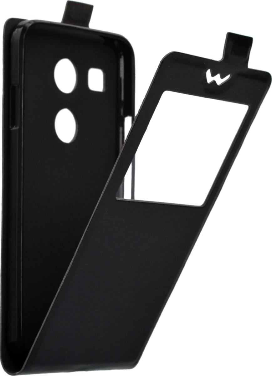 Skinbox Flip Slim чехол для LG Nexus 5X, Black