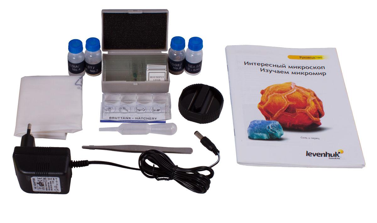 Levenhuk Rainbow 2L Amethyst микроскоп ( XSP-1406 plastic Pantone #265C )