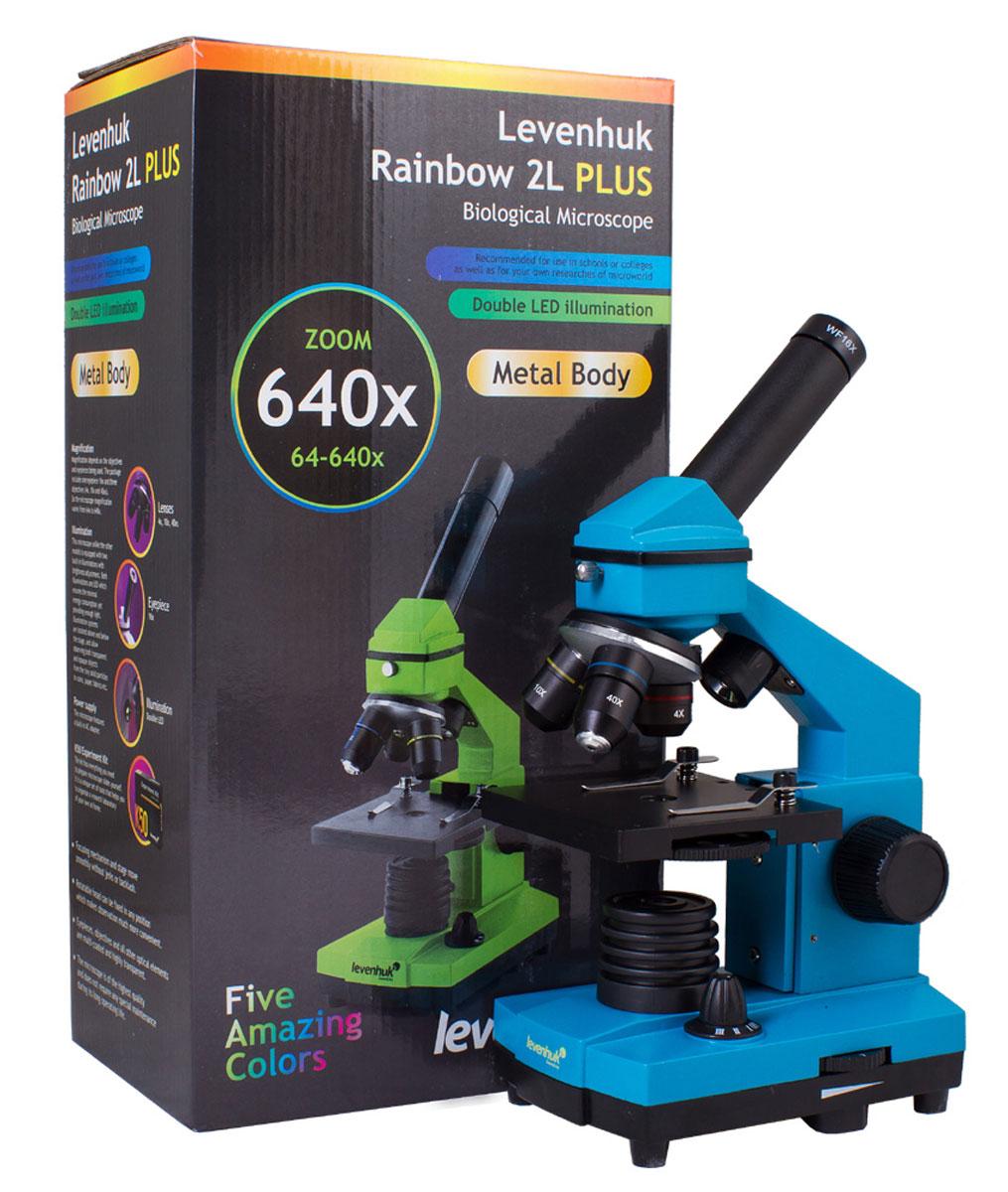 Levenhuk Rainbow 2L Plus Azure микроскоп ( XSP-42 metal Pantone #313C )