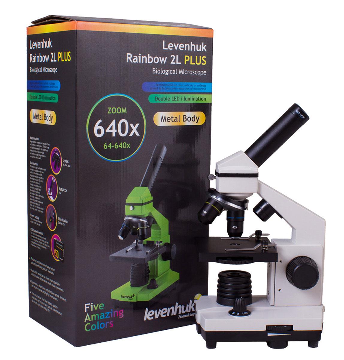 Levenhuk Rainbow 2L Plus, Moonstone микроскоп