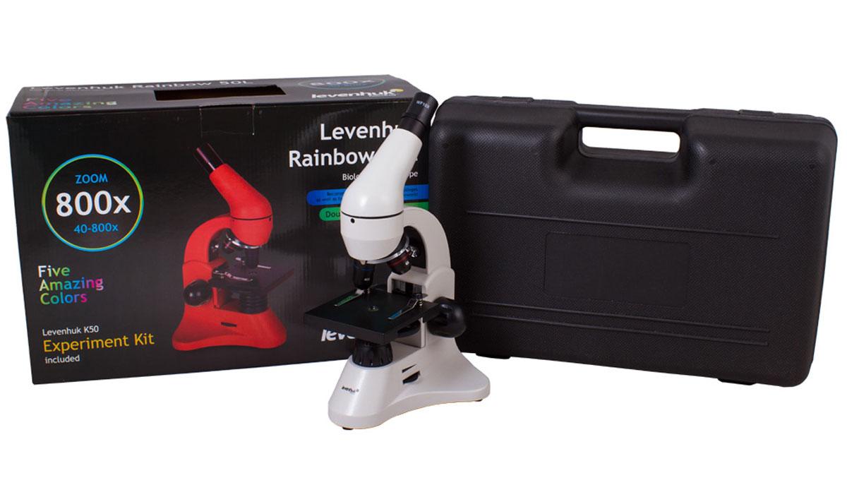 Levenhuk Rainbow 50L, Moonstone микроскоп