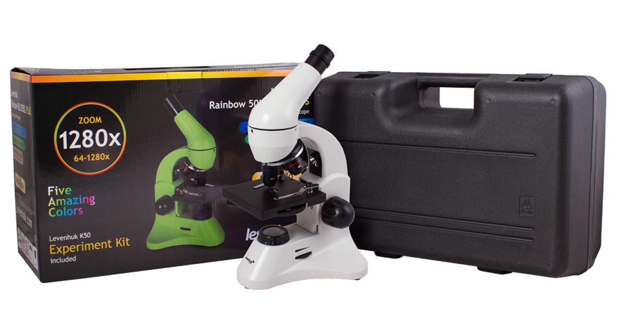 Levenhuk Rainbow 50L Plus, Moonstone микроскоп