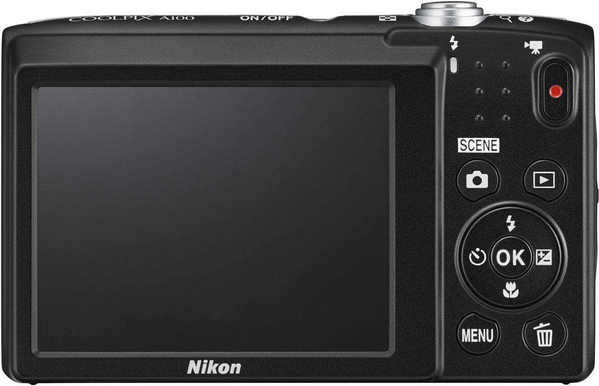 Nikon CoolPix A100, Purple Line Art цифровой фотоаппарат