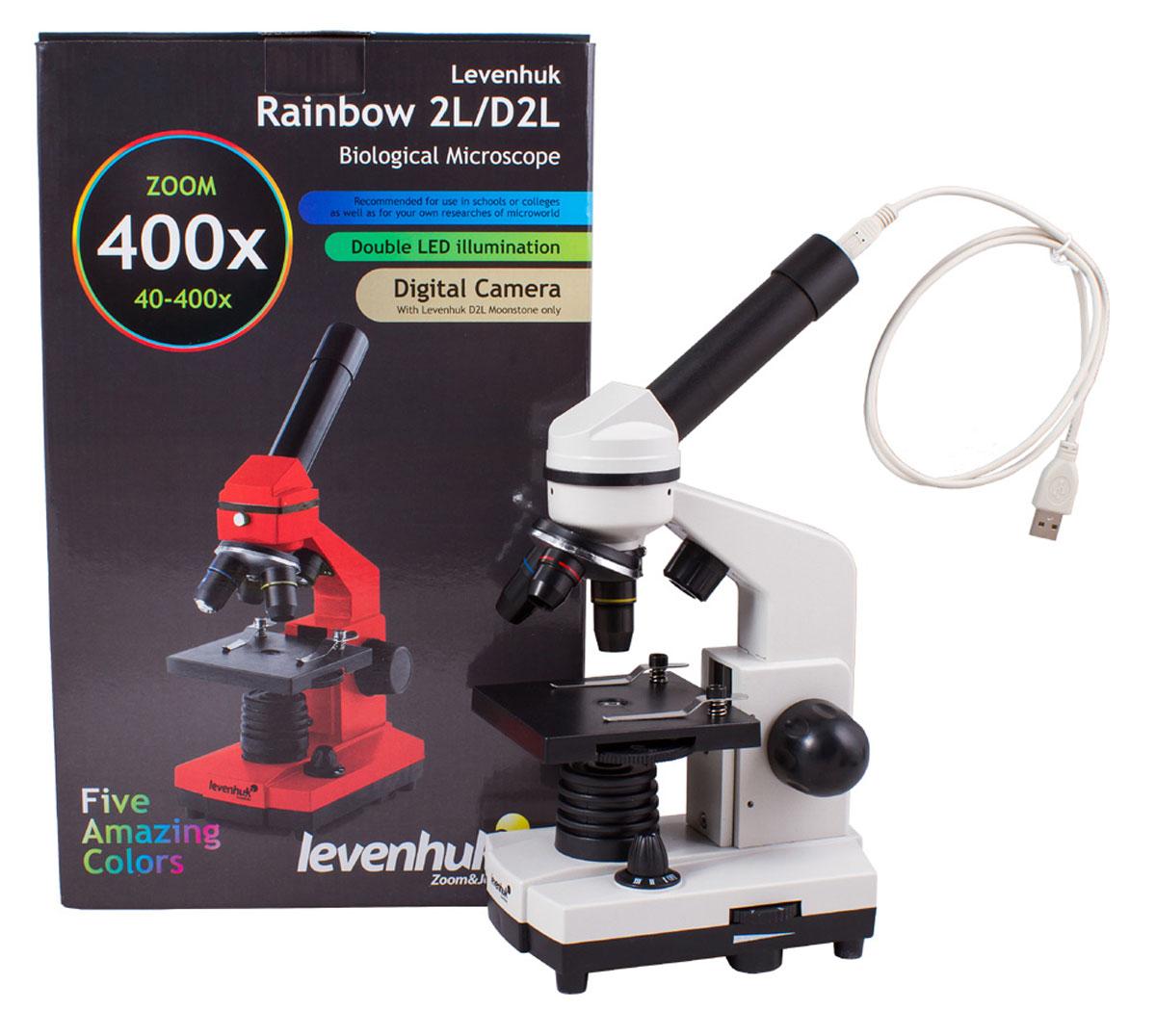Levenhuk Rainbow D2L Moonstone микроскоп
