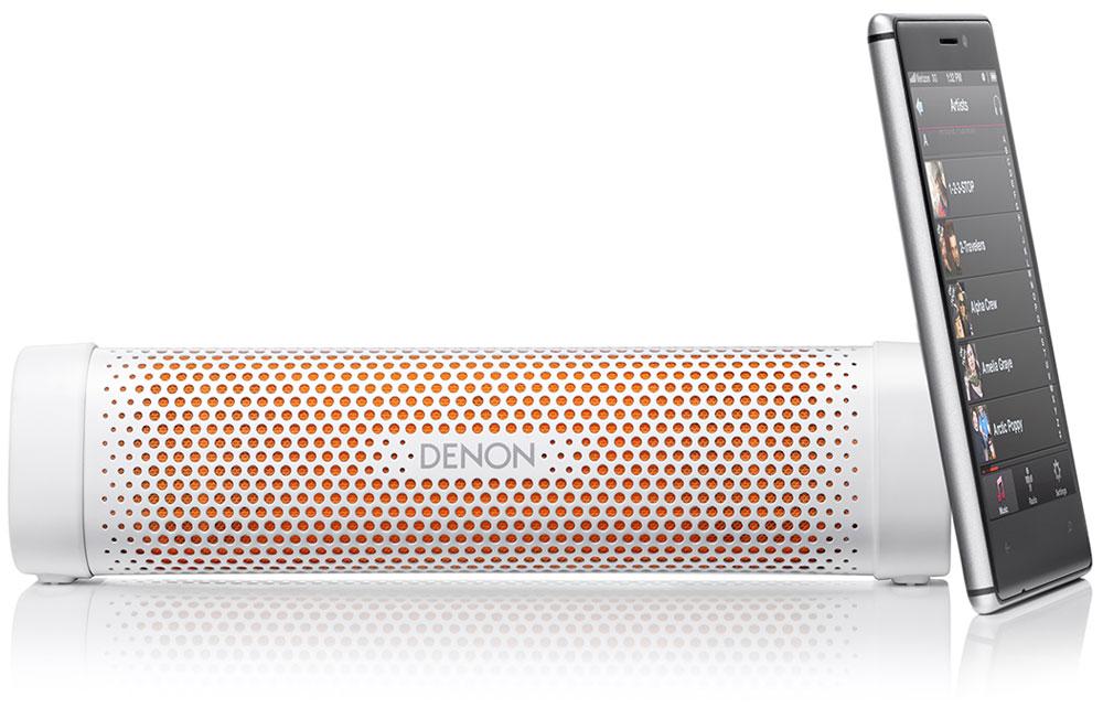 Denon Envaya Mini DSB-100, White портативная акустическая система