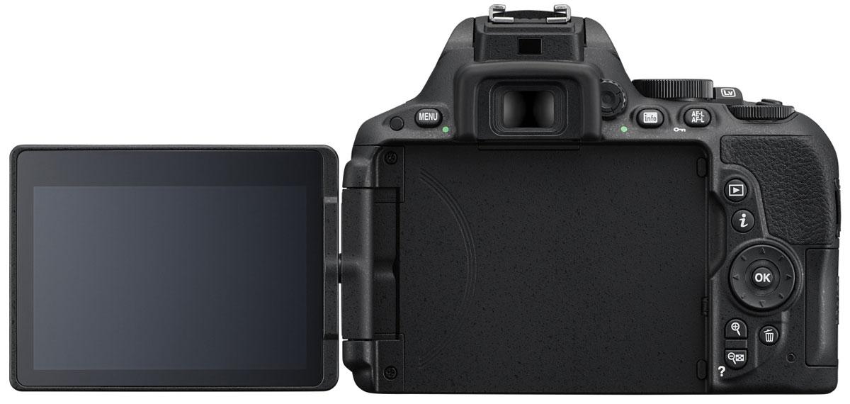 Nikon D5500 Kit 18-55 VR, Black цифровая зеркальная камера