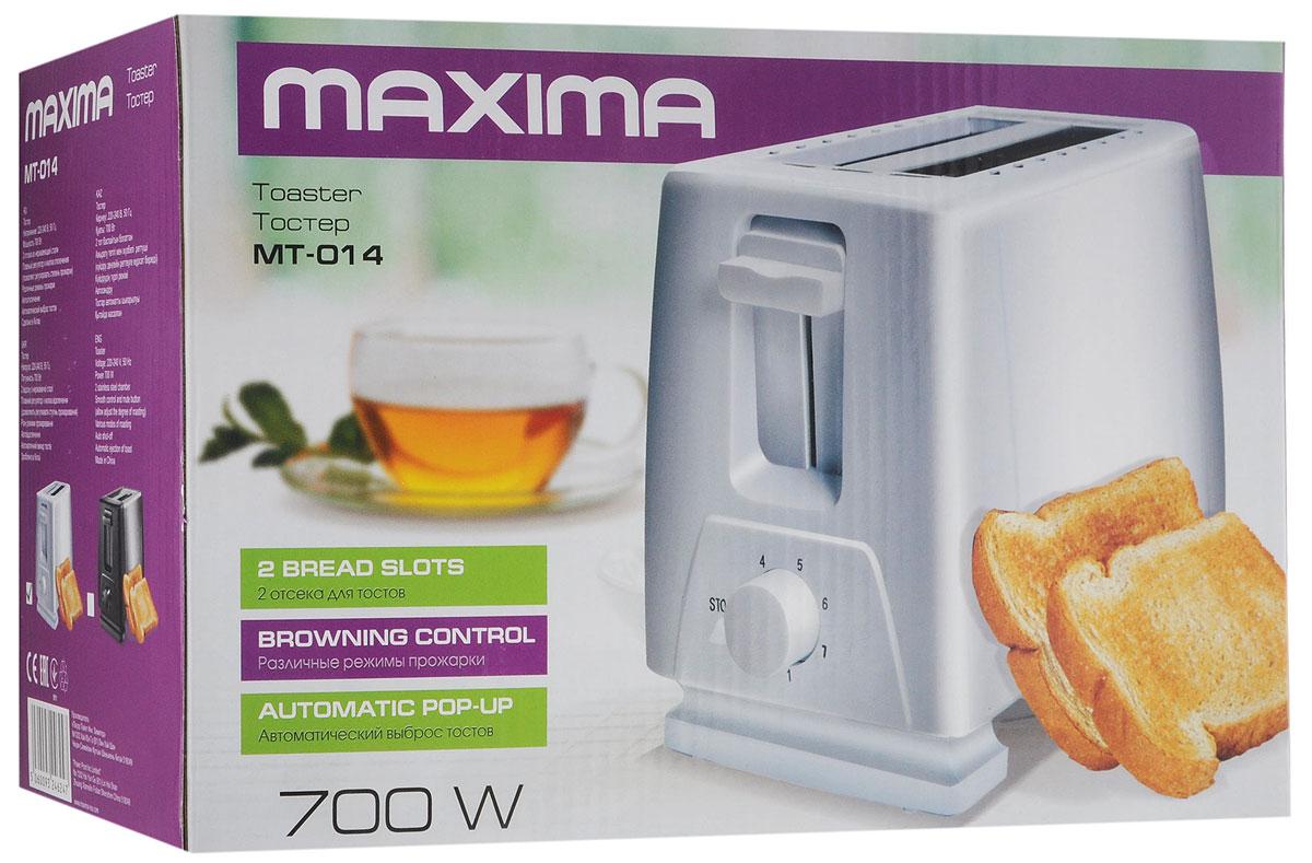 Maxima MT-014, White тостер