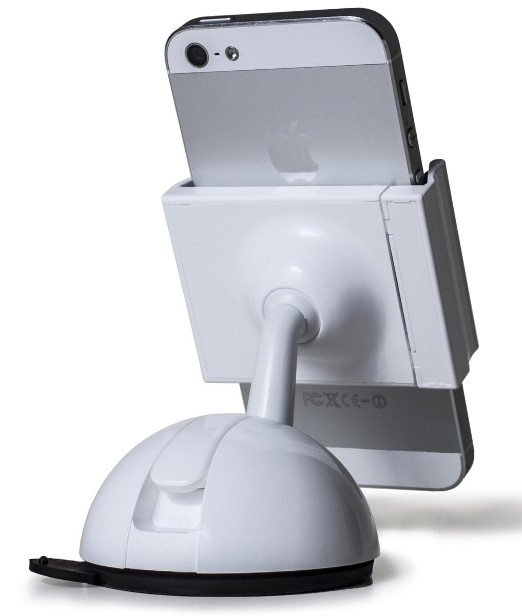 uBear Smart Fit, White автомобильный держатель для смартфонов