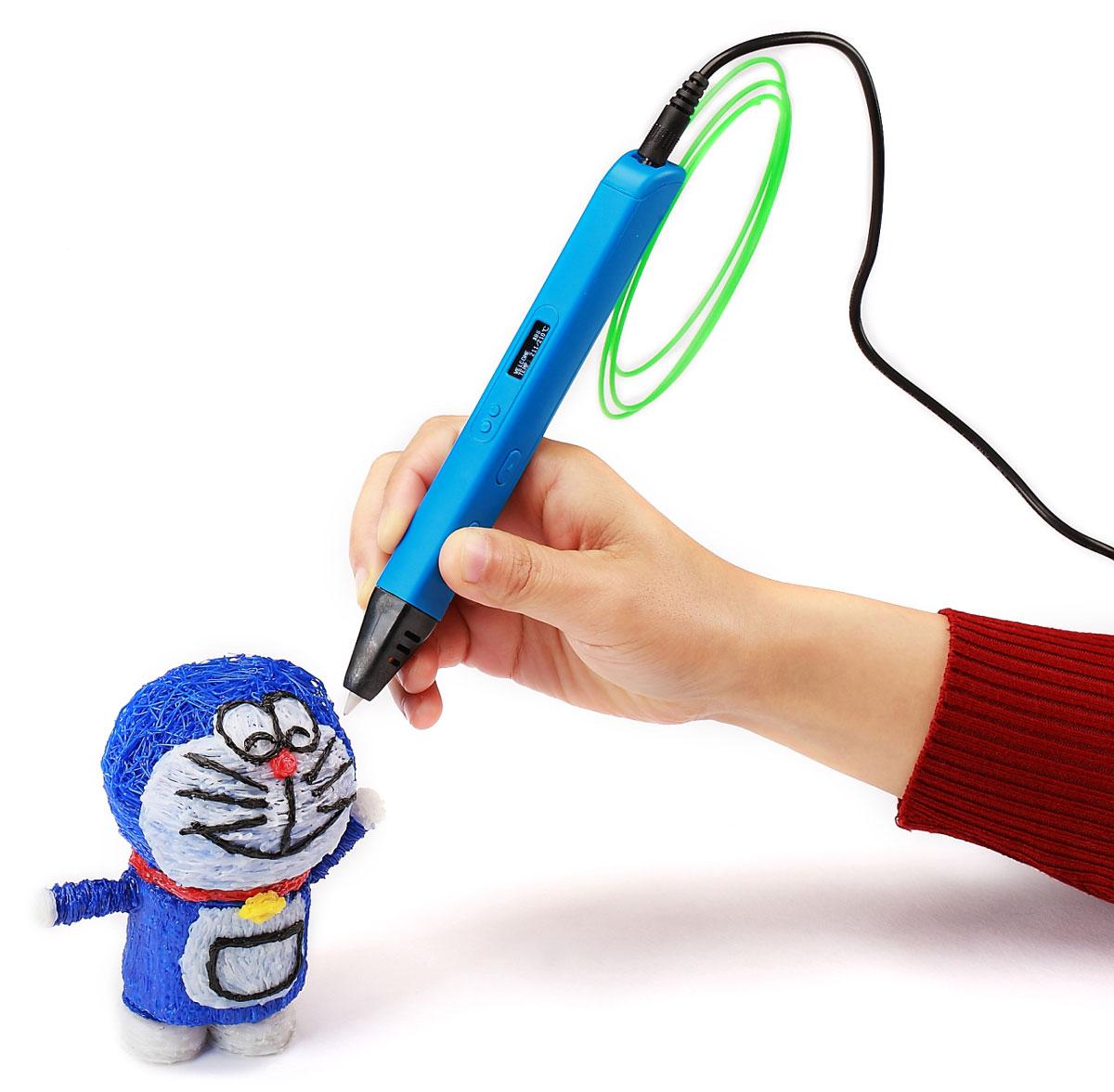 Myriwell RP800A, Light Blue 3D ручка c OLED дисплеем ( RP800AB )