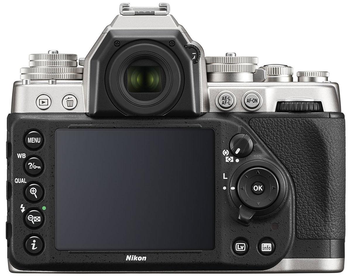 Nikon Df Body, Silver цифровая зеркальная камера