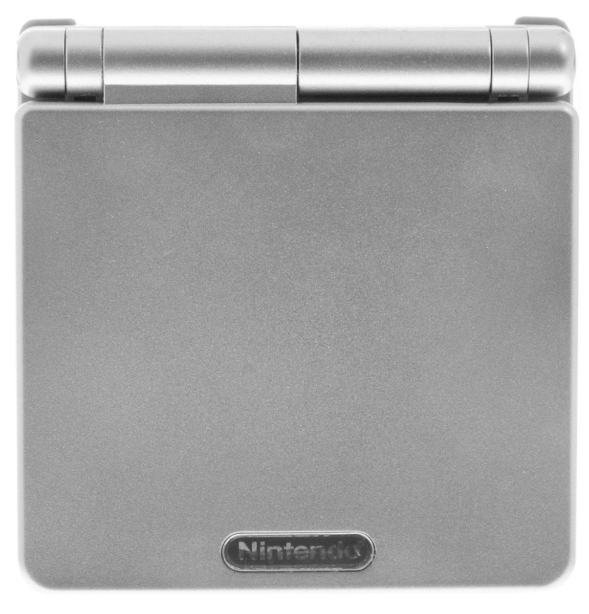 Game Boy Advance SP, Silver игровая приставка (21 игра) ( 45496713850 )