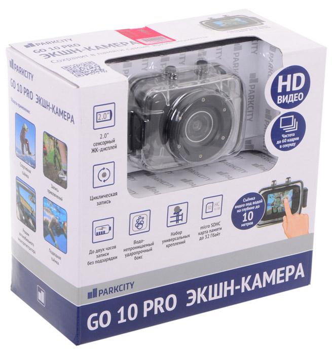 ParkCity Go 10 Pro, Black экшн-камера