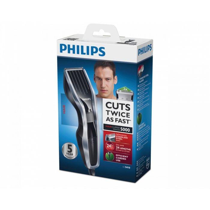 Philips HC5410/15, Silver Black машинка для стрижки