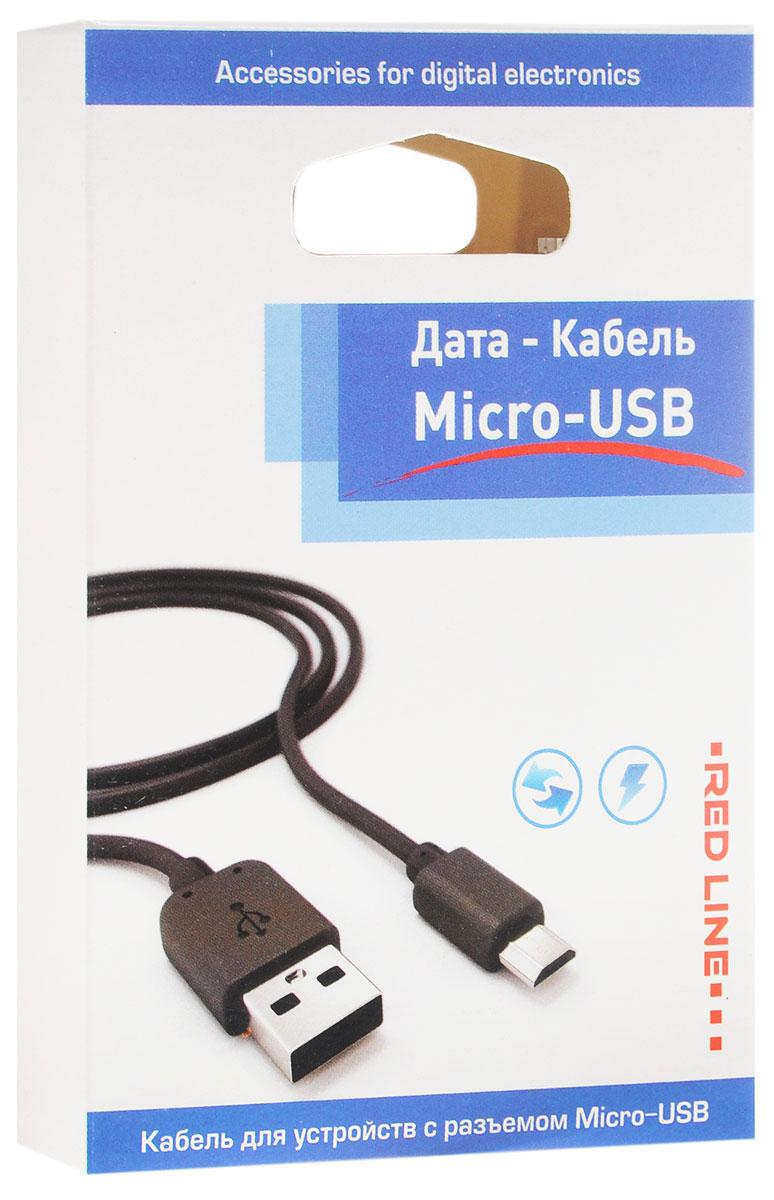Red Line дата-кабель USB-micro USB, Black