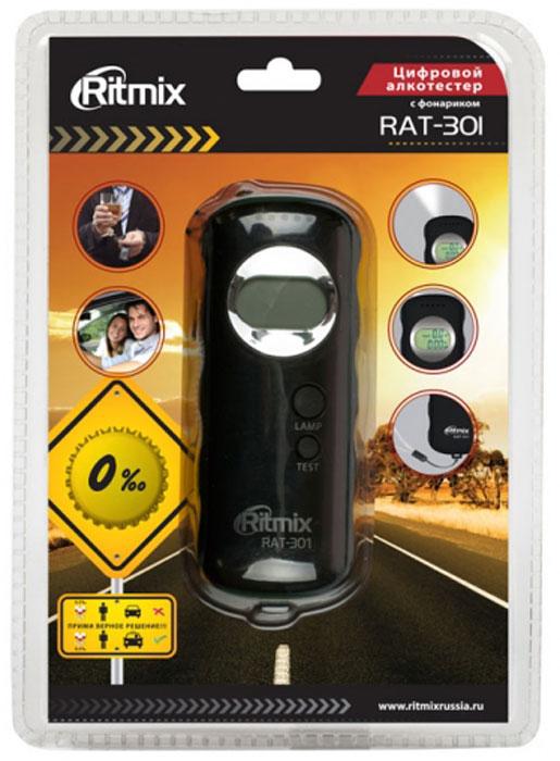 Ritmix RAT-301, Black алкотестер ( 15118363 )