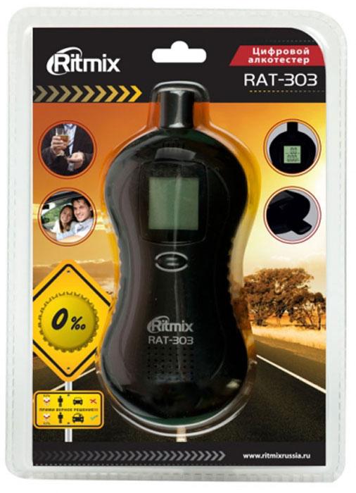 Ritmix RAT-303, Black алкотестер ( 15118364 )