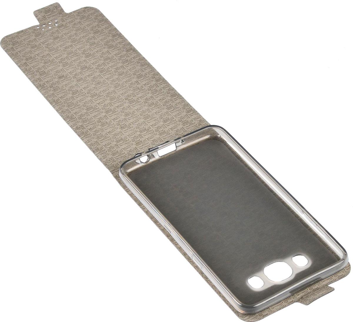 Skinbox Flip Slim чехол для Samsung Galaxy J5 (2016), Black