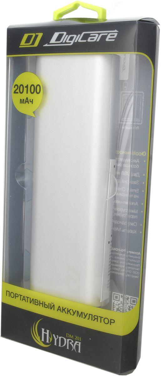 DigiCare Hydra DM201, Silver внешний аккумулятор (20100 мАч) ( PB-HDM201 )