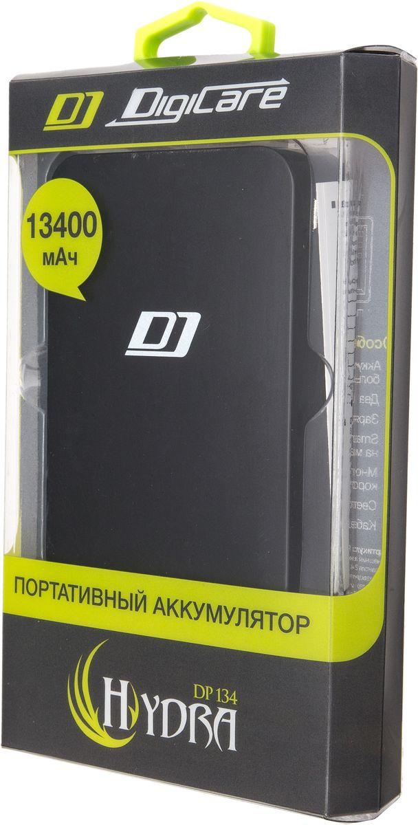 DigiCare Hydra DP134, Black внешний аккумулятор (13400 мАч)
