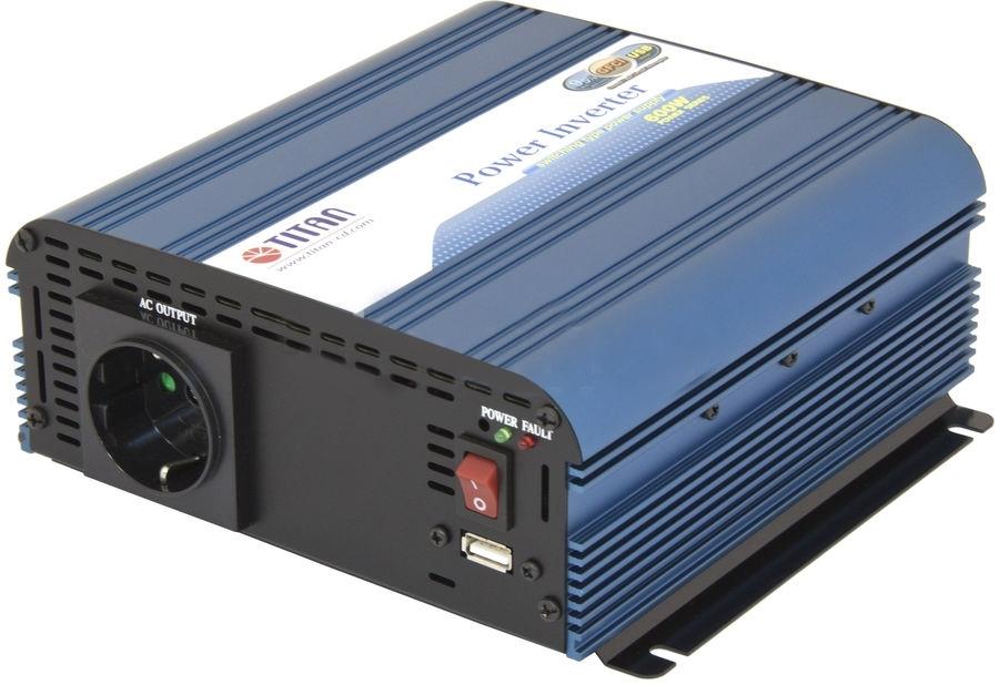 Автоинвертер Titan HW-600V6 ( HW-600V6 )