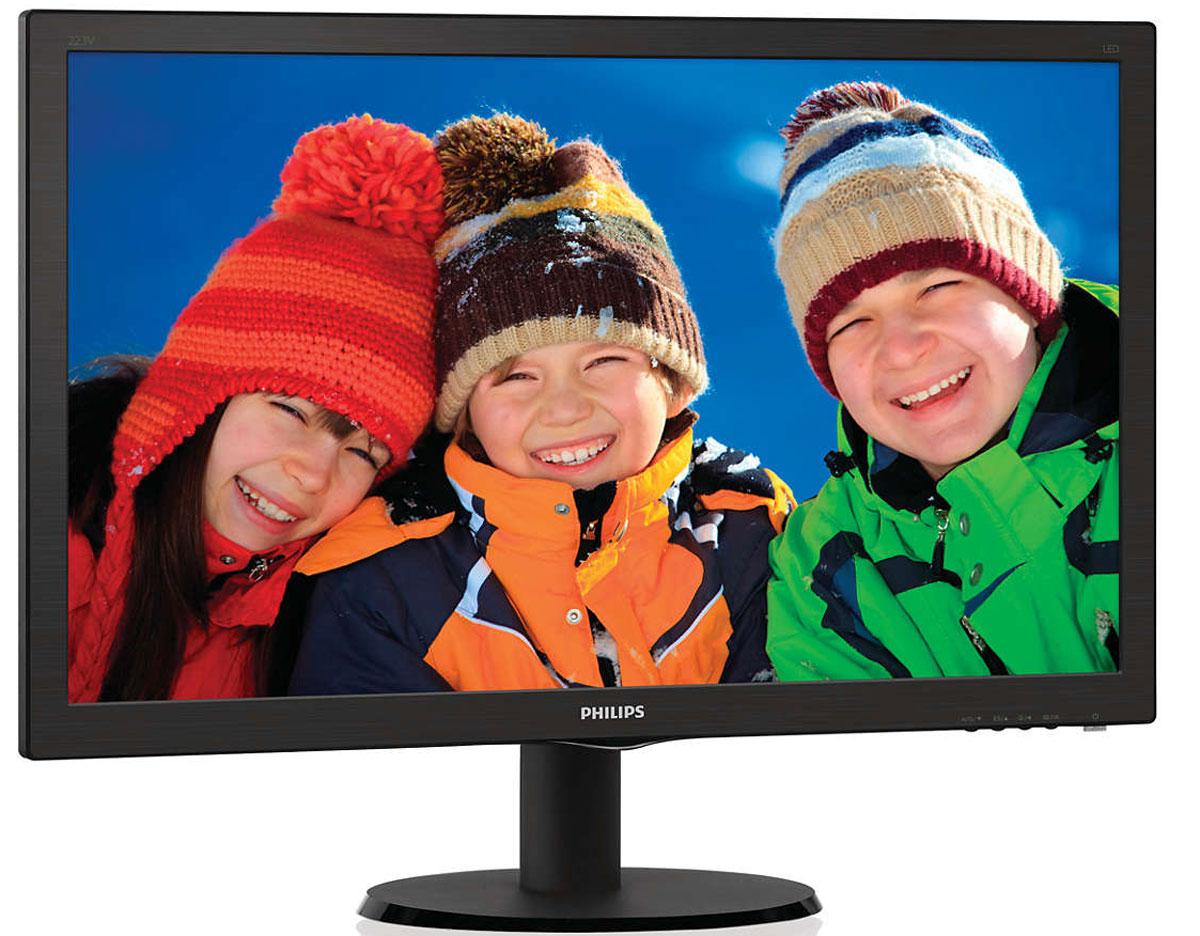 Philips 273V5LHSB (00/01), Black монитор ( 273V5LHSB (00/01) )