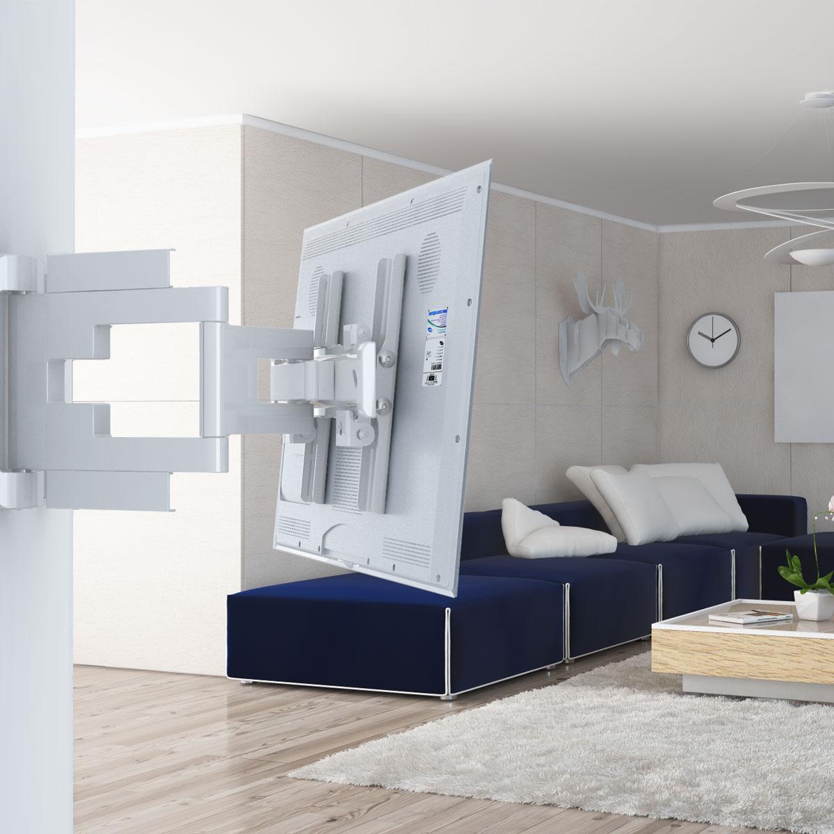 Holder LEDS-7015, White кронштейн для ТВ