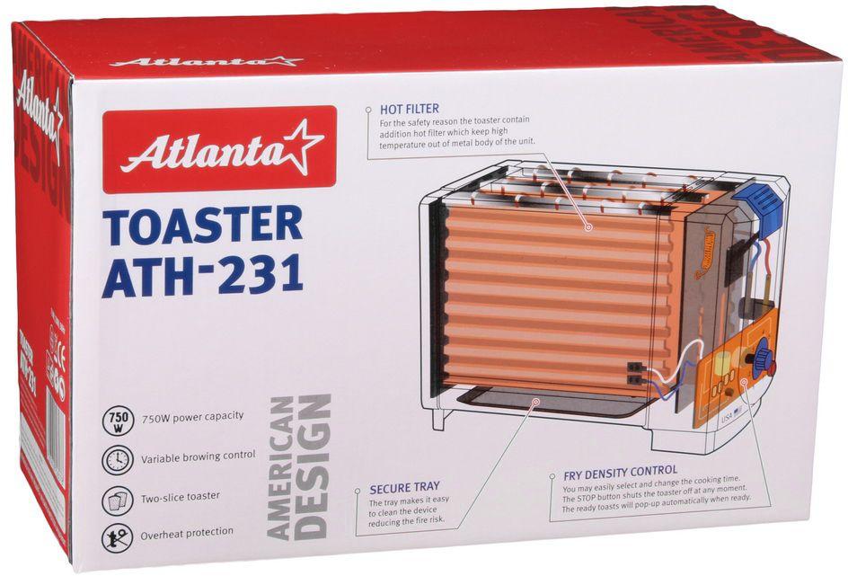 Atlanta ATH-231, White тостер