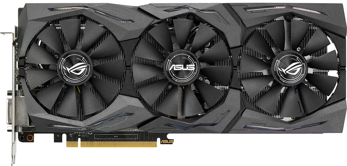 Asus Strix GeForce GTX 1070 O8G Gaming 8GB видеокарта ( STRIX-GTX1070-O8G-GAMING )