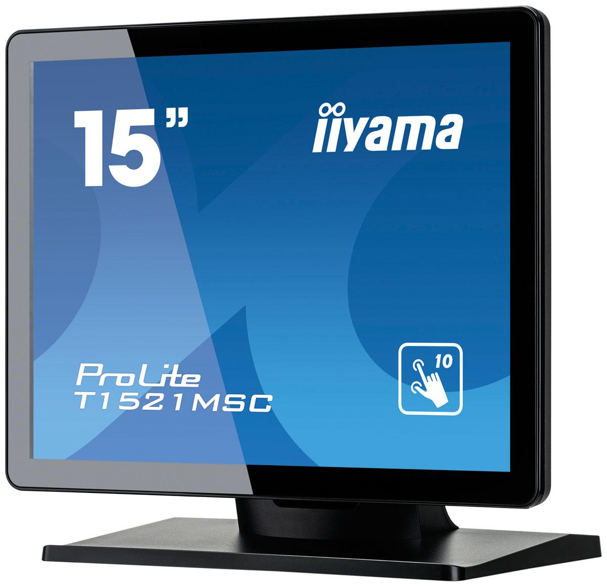 Iiyama T1521MSC-B1, Black монитор ( T1521MSC-B1 )