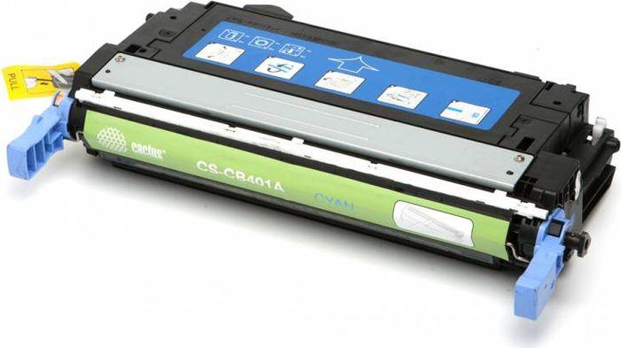 Cactus CS-CB401A, Cyan тонер-картридж для HP CLJ CP4005/CP4005DN/CP4005N