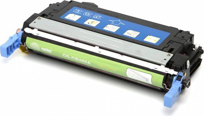 Cactus CS-CB402A, Yellow тонер-картридж для HP CLJ CP4005/CP4005DN/CP4005N