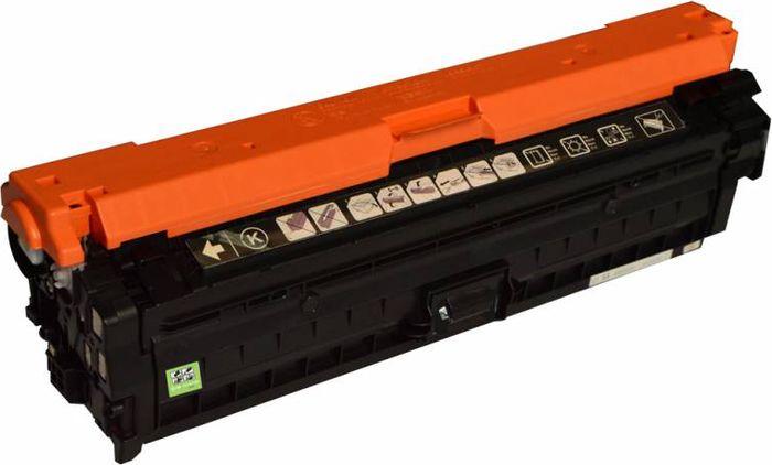 Cactus CS-CE740A, Black тонер-картридж для HP LJ CP5220/CP5221/CP5223/CP5225