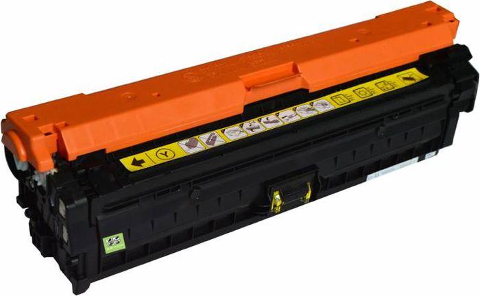 Cactus CS-CE742A, Yellow тонер-картридж для HP LJ CP5220/CP5221/CP5223/CP5225