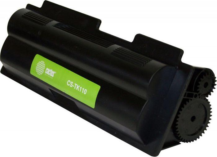 Cactus CS-TK110, Black тонер-картридж для Kyocera FS-720/820/920/1016MFP/1116MFP